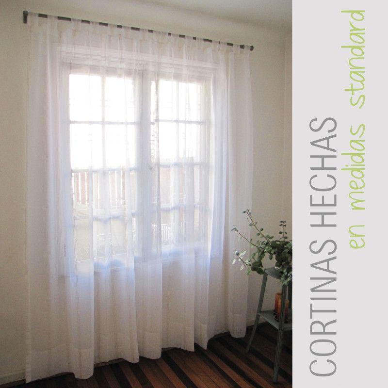 Cortina con presillas en velo #cortinas #presillas #velo ...