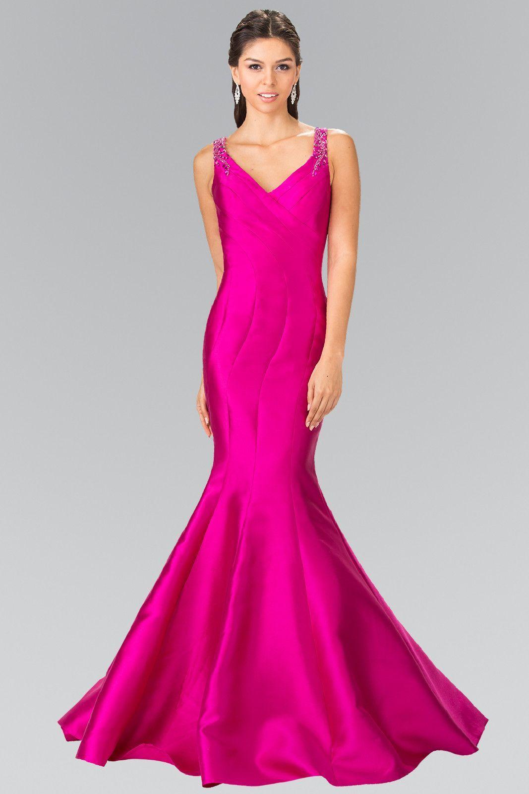 9d83f27e98a3a Mikado Beaded Runway Mermaid Prom Dress Trumpet Evening Gown XS ...