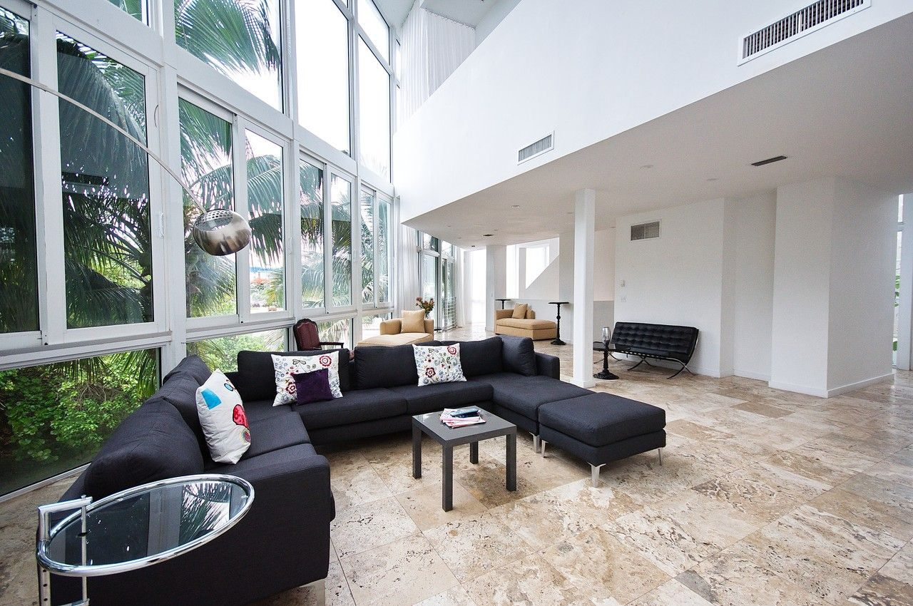 Good Usage Of Natural Light 2228 Park Avenue Units 1 2 Miami Beach Asking Price 5 500 000 Beach Modern Miami Real Estate Park Avenue
