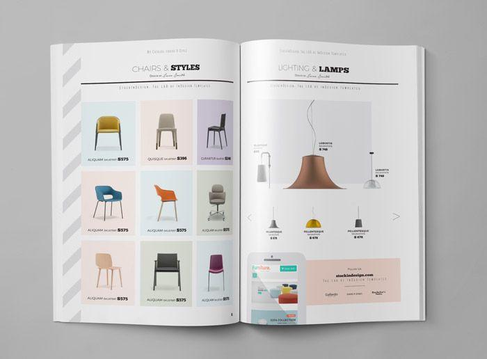 Download our free creative product catalog template! Download Product Catalog Template Brosur Desain Desain Katalog
