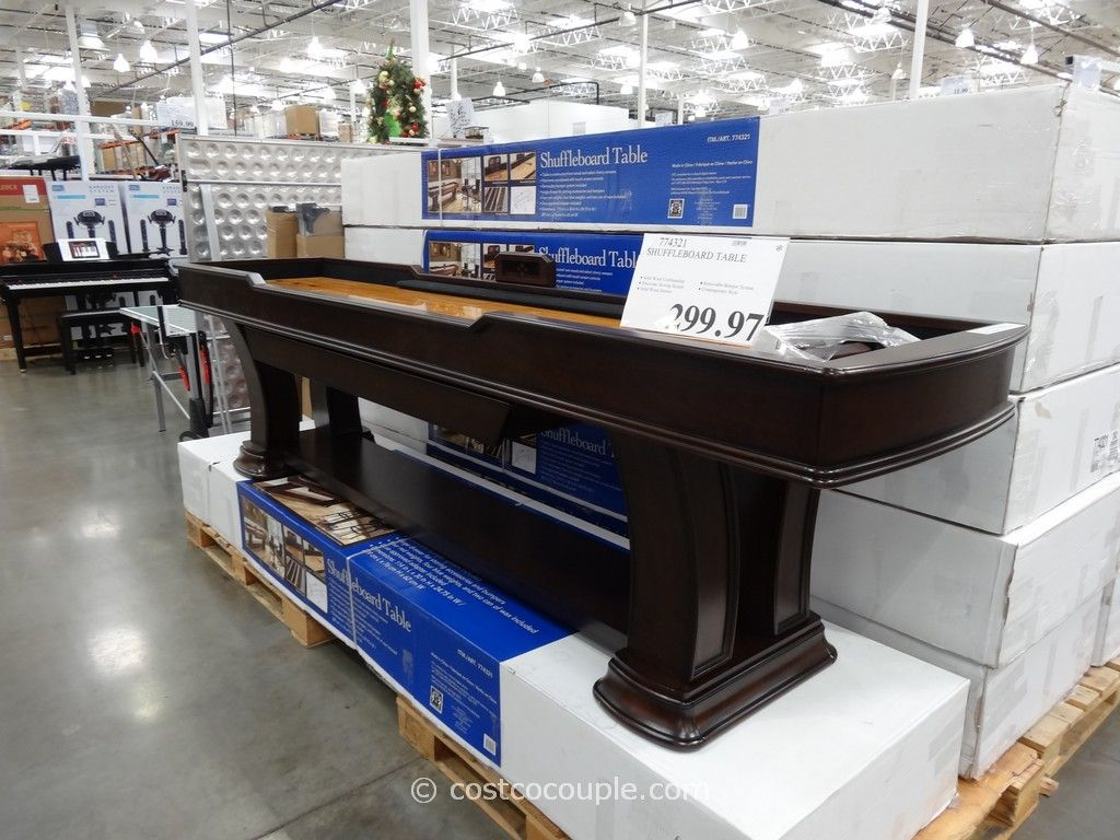 Shuffleboard Table Costco $449.99   11 Of My Steps Long