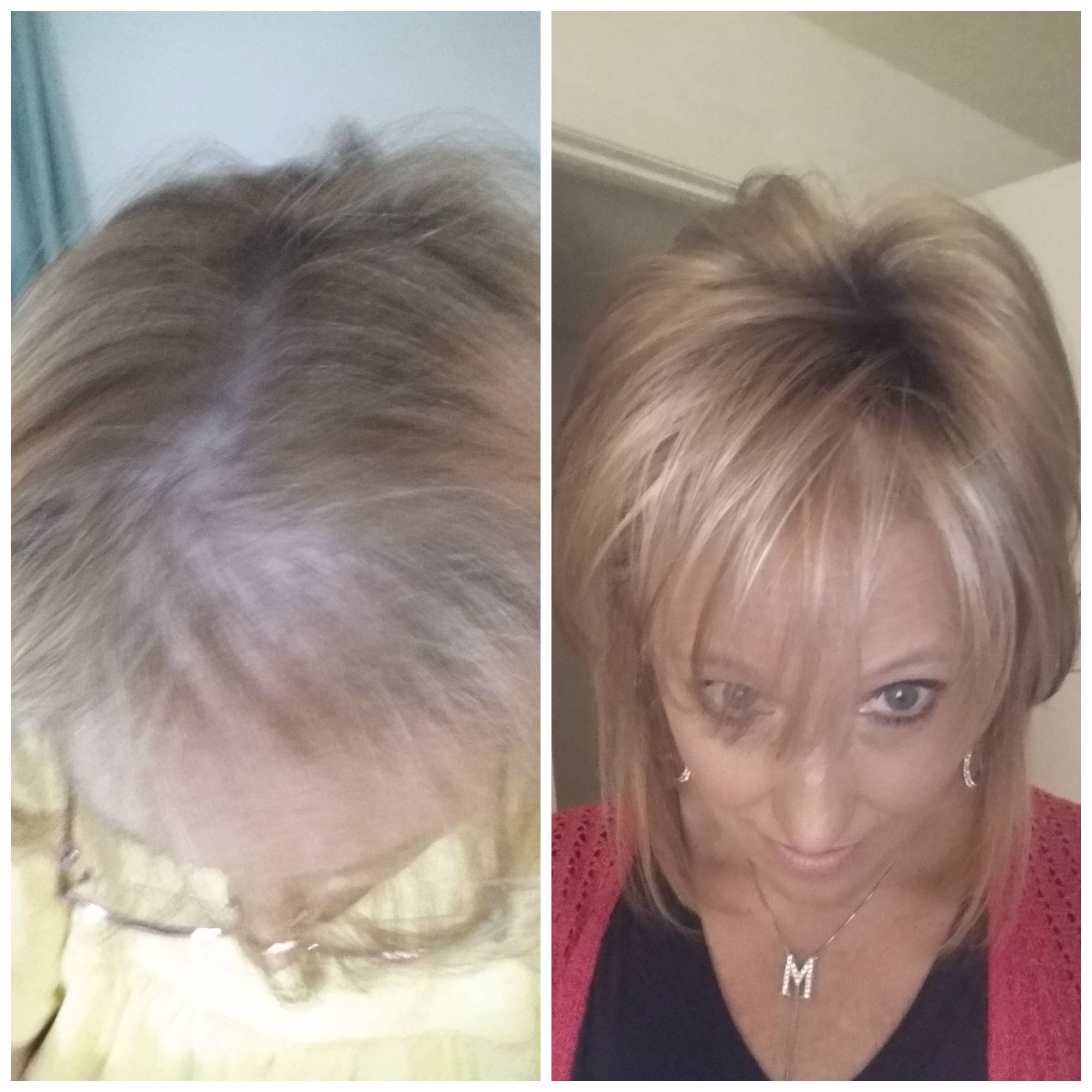 Medium Top w/ Roots Wearing Medium Top w/ Roots in