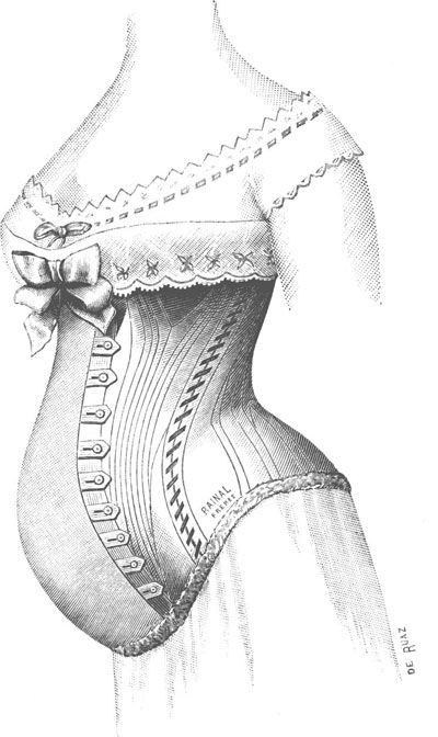 maternity corset, vintage advertising