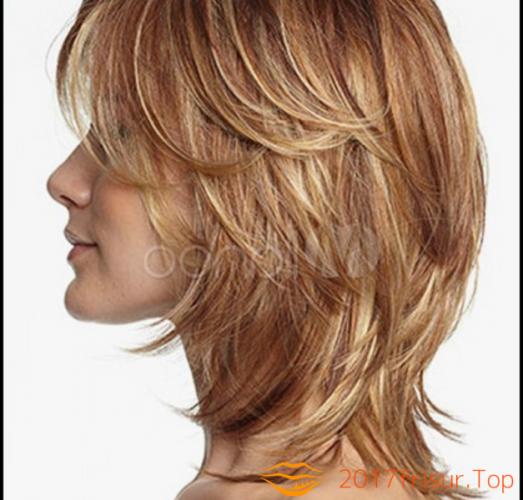 Stufenschnitt Bilder Mittellang Haarschnitte Und Frisuren Trends 2019 Mittellanger Haarschnitt Haarschnitt Mittellange Haare Frisuren Einfach
