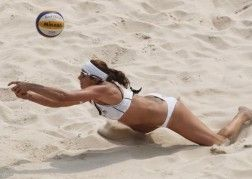 Women's Volleyball Players To Keep Sporting Bikinis Even Though They Don't Have To