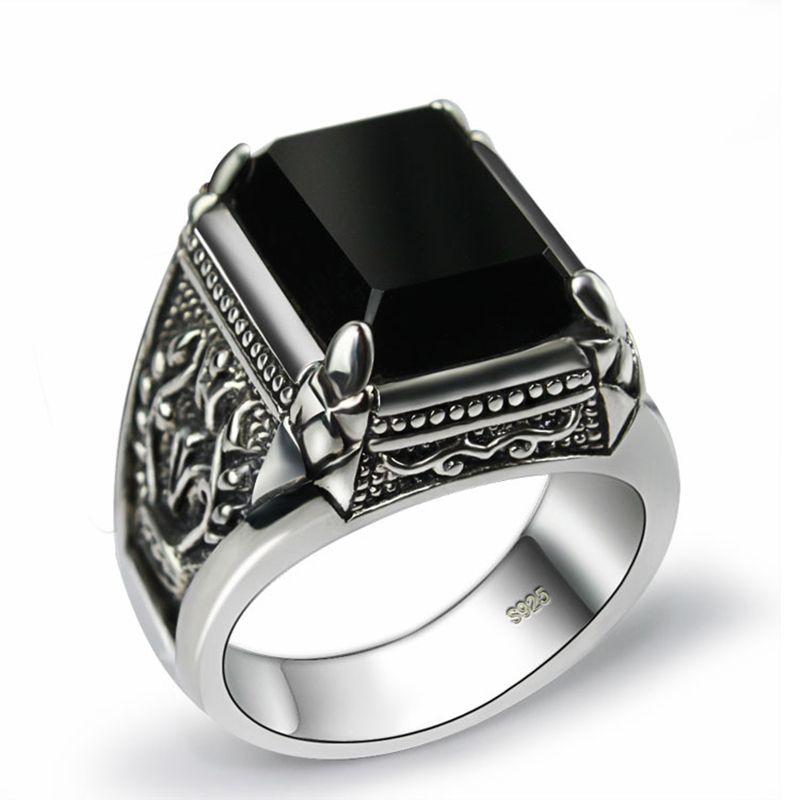 MoAndy Anniversary Ring Stainless Steel Ring Men Wedding Ring Dragon