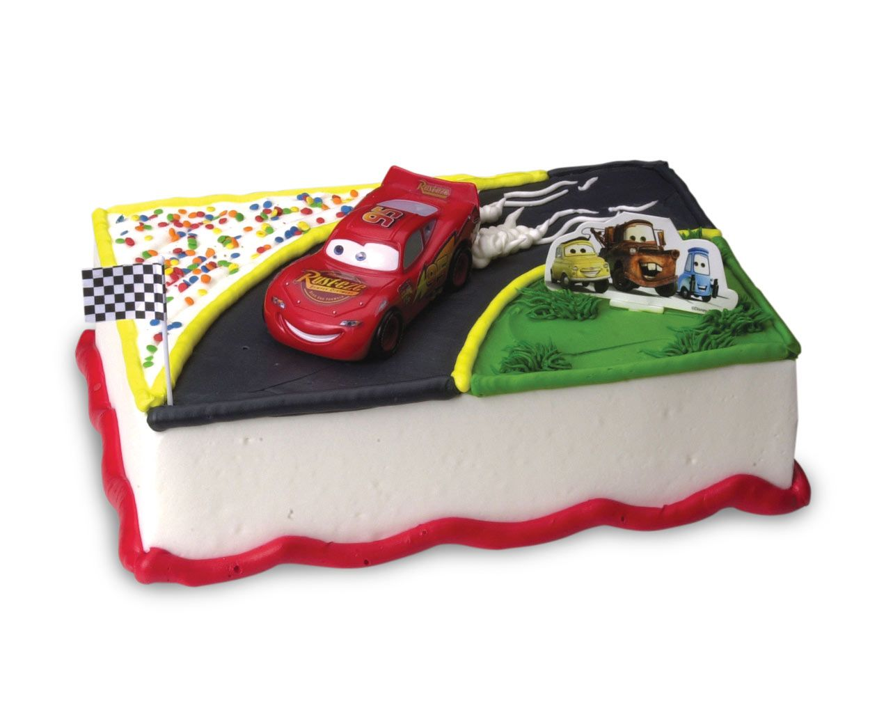 Cars Ice Cream Cake Cakes Pinterest Cake Birthday Cake And