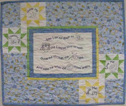 Now I Lay Me Quilt Fabric Panel - Shop Our Online Quilt Store ... : online quilt store - Adamdwight.com
