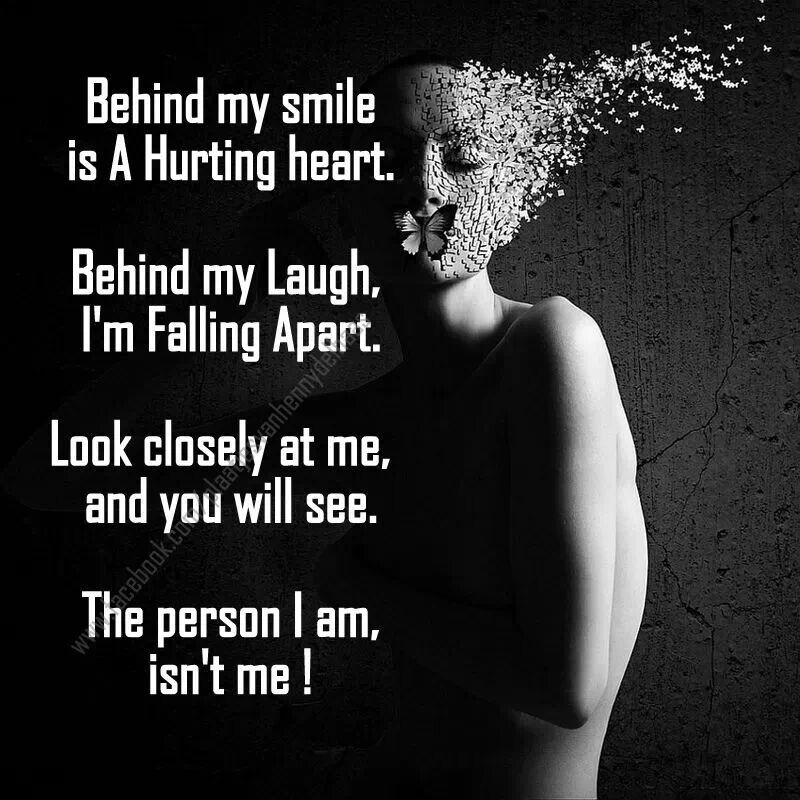 Falling Apart: Behind My Smile Quotes. QuotesGram