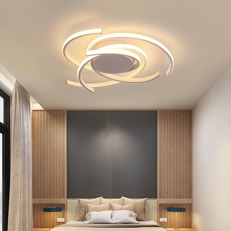 Minimalist Living Room Bedroom Led Rectangular Ceiling Fixture 33 46 Minimalist Living Room Ceiling Design Living Room Ceiling Lights Living Room