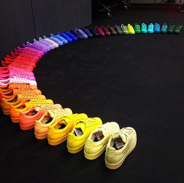 Adidas Superstar Supercolor All Colors
