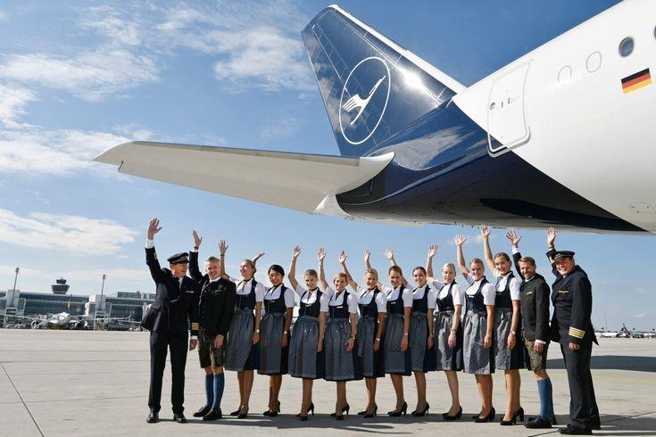 Celebrate Oktoberfest in the air aboard a themed Lufthansa A380 -