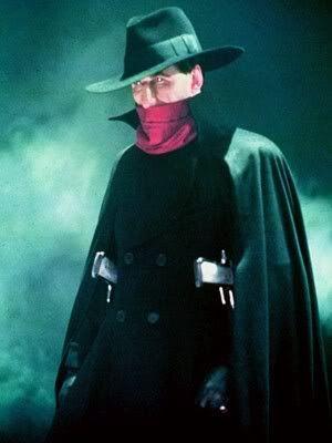 "Alec Baldwin as ""The Shadow"" | Shadow costume, Superhero, Fictional heroes"