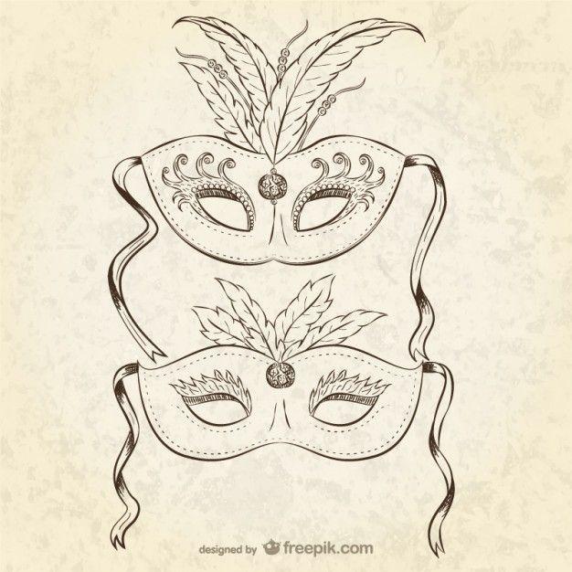 Karnevals Maske