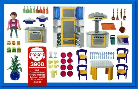 Best Playmobil Set 3968 Modern Kitchen Playmobil Spielzeug 400 x 300