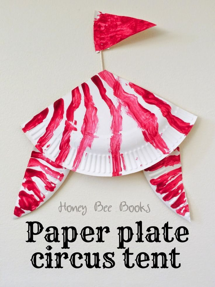 How to create a paper plate circus tent  sc 1 st  Pinterest & How to create a paper plate circus tent | Circus (September Week 4 ...