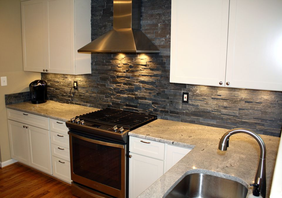 Best 19 Stacked Stone Backsplashes For Different Types Of 640 x 480