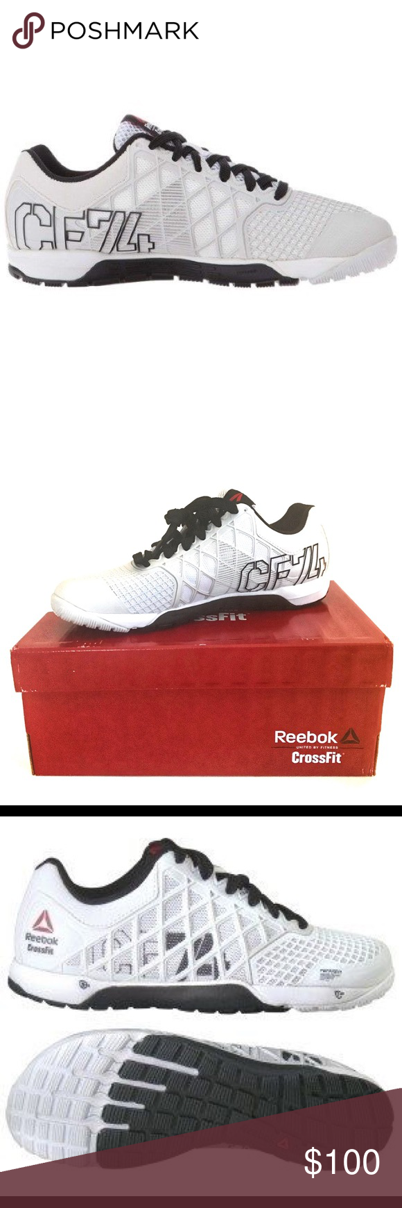 NIB REEBOK CROSSFIT NANO 4.0 PORCELAIN   BLACK NEW IN BOX REEBOK CROSSFIT  NANO 4.0 PORCELAIN cafcf16ee53