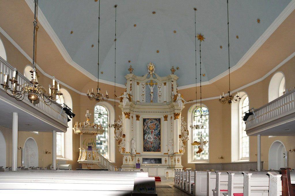 Hamburg, Christianskirche, innen Hamburg, Impressionen
