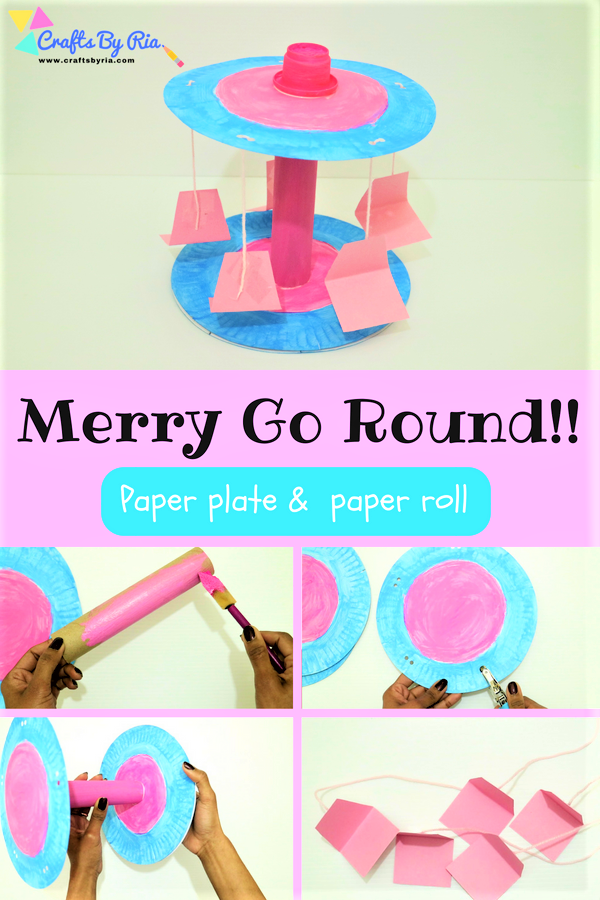 Merry Go Round Craft with Paper plate- Easy Craft for kids | Share ...