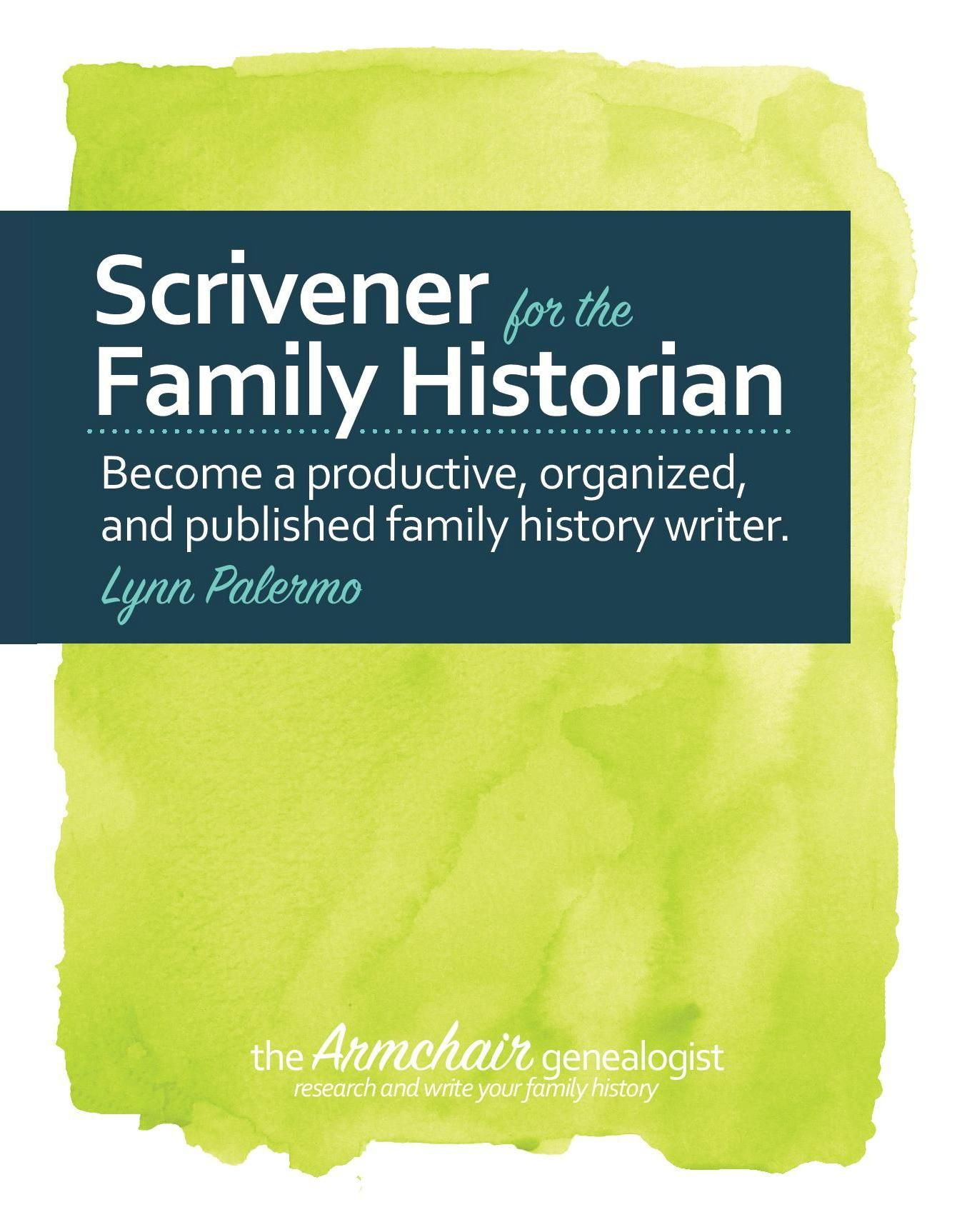 writing your family history templates