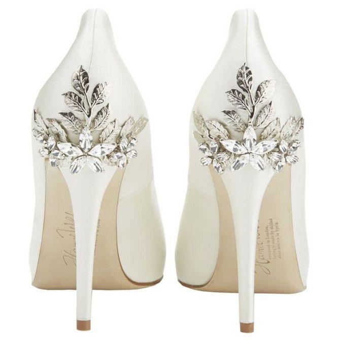 Escolhendo os sapatos de noiva perfeitos   Sapatos de noiva