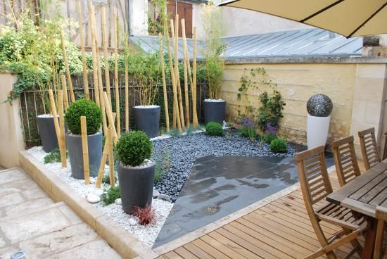 Jardin de paysagiste auxerre zen et moderne jardim ou quintal pinterest decks search - Jardin moderne zen villeurbanne ...