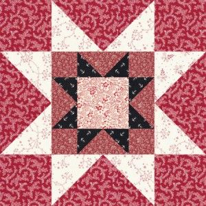 Sew Easy as Pie Rising Star Quilt Blocks - We're All About Scrap ... : easy star quilt - Adamdwight.com