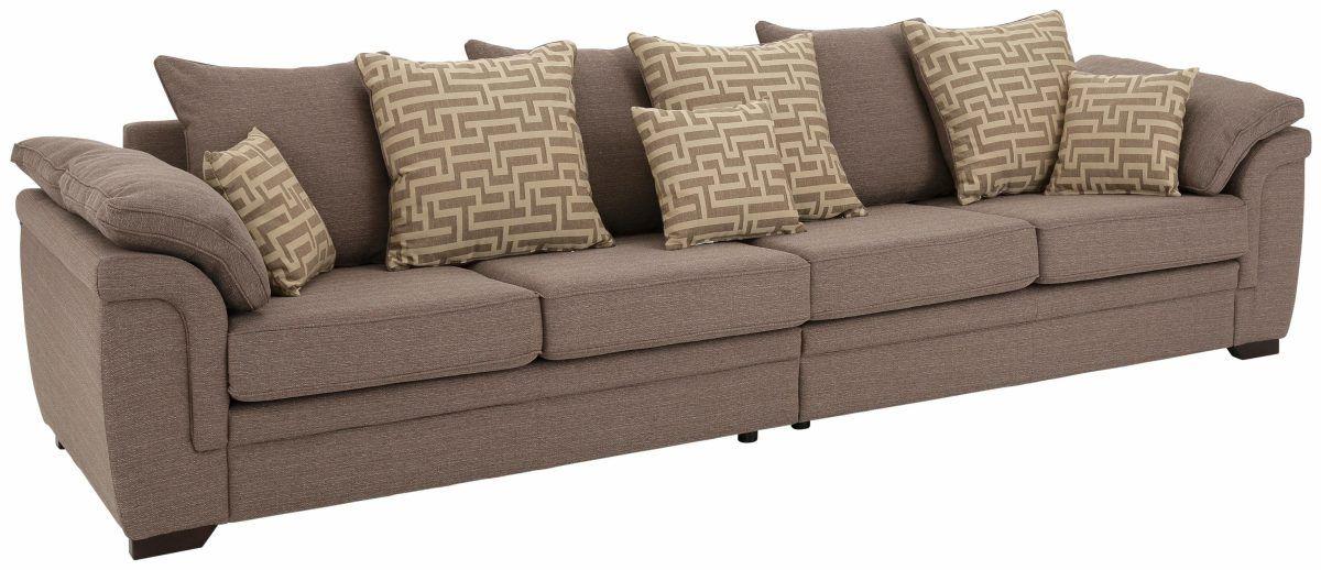 Home affaire Big-Sofa braun, »Sierra«, FSC®-zertifiziert Jetzt - wohnzimmer sofa braun