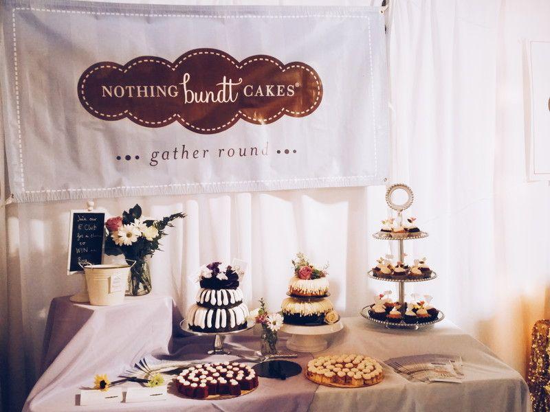 Image result for bundtinis size wedding desserts