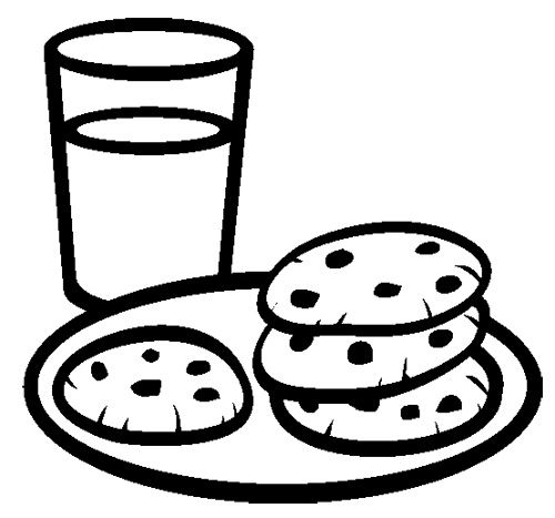 Chocolate Chip Cookie Coloring Page Chocolate Chip Cookies