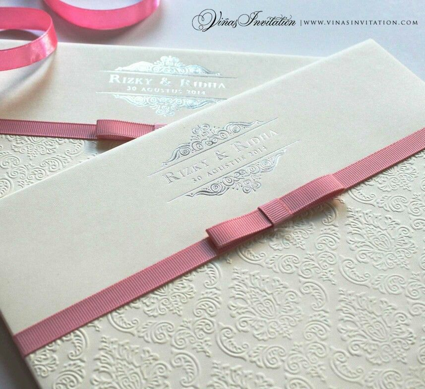 how to emboss wedding invitations diy%0A Vinas invitation  Vinas detail  Silver hot stamp  Gold emboss  Gold  printing