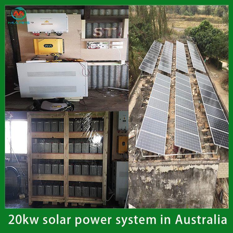 20kw Solar System In Australia In 2020 Solar Solar Panel Cost Solar System