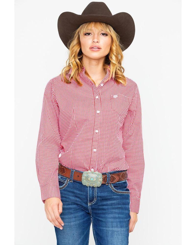 dbacdd45f George Strait by Wrangler Women's Geo Print Long Sleeve Western Shirt -  LGSR606 #fashion #clothing #shoes #accessories #mensclothing #shirts (ebay  link)