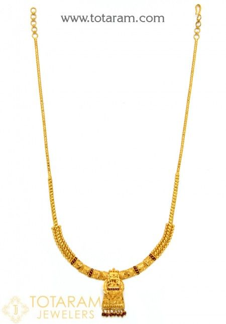 22k Gold Necklaces For Women And Gold Chain Necklaces View Our Collection And Buy Online Indian 22k Gold Necklaces For Women Made In India Ships From