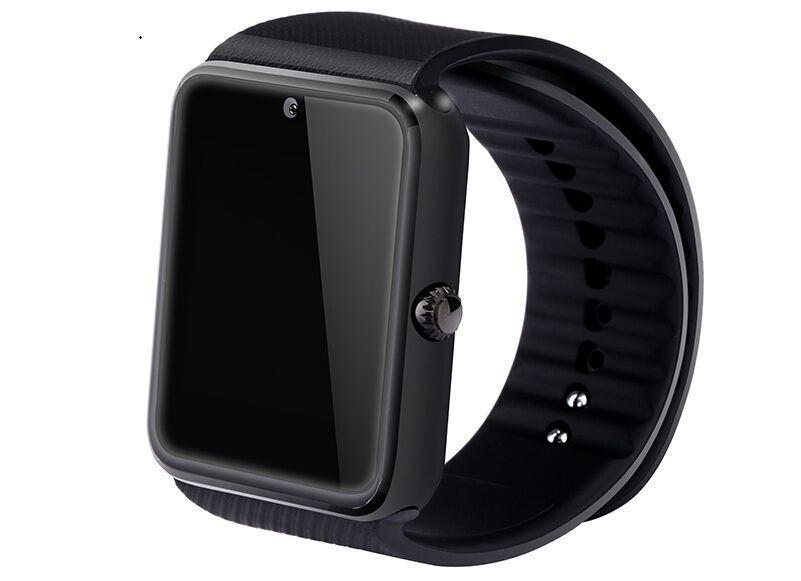 2017 smart watch gt08/dz09 dz10 klok sync notifier sim-kaart bluetooth-connectiviteit voor apple android telefoon smart heath horloge