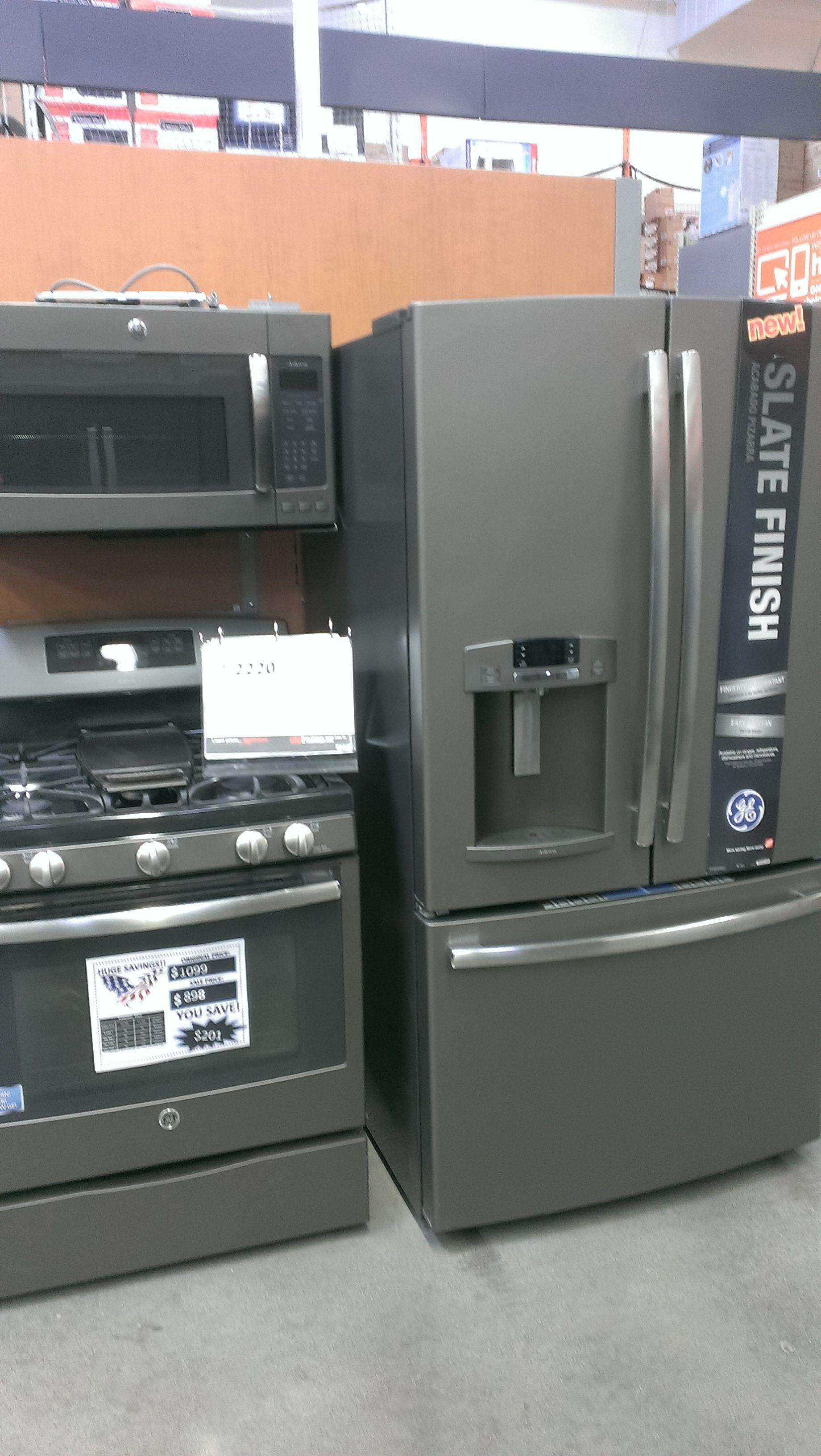 Best Like The Matte Gray Kitchen Appliances Grey Kitchen 400 x 300