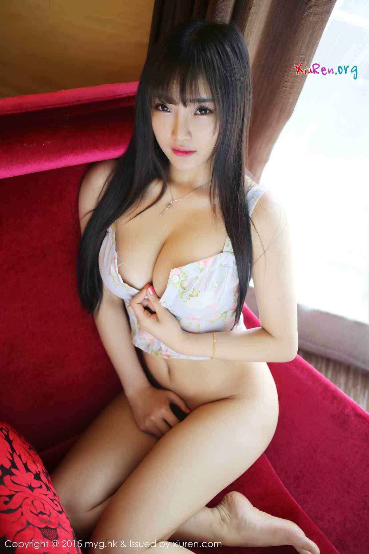 Sexy almost nude asian women