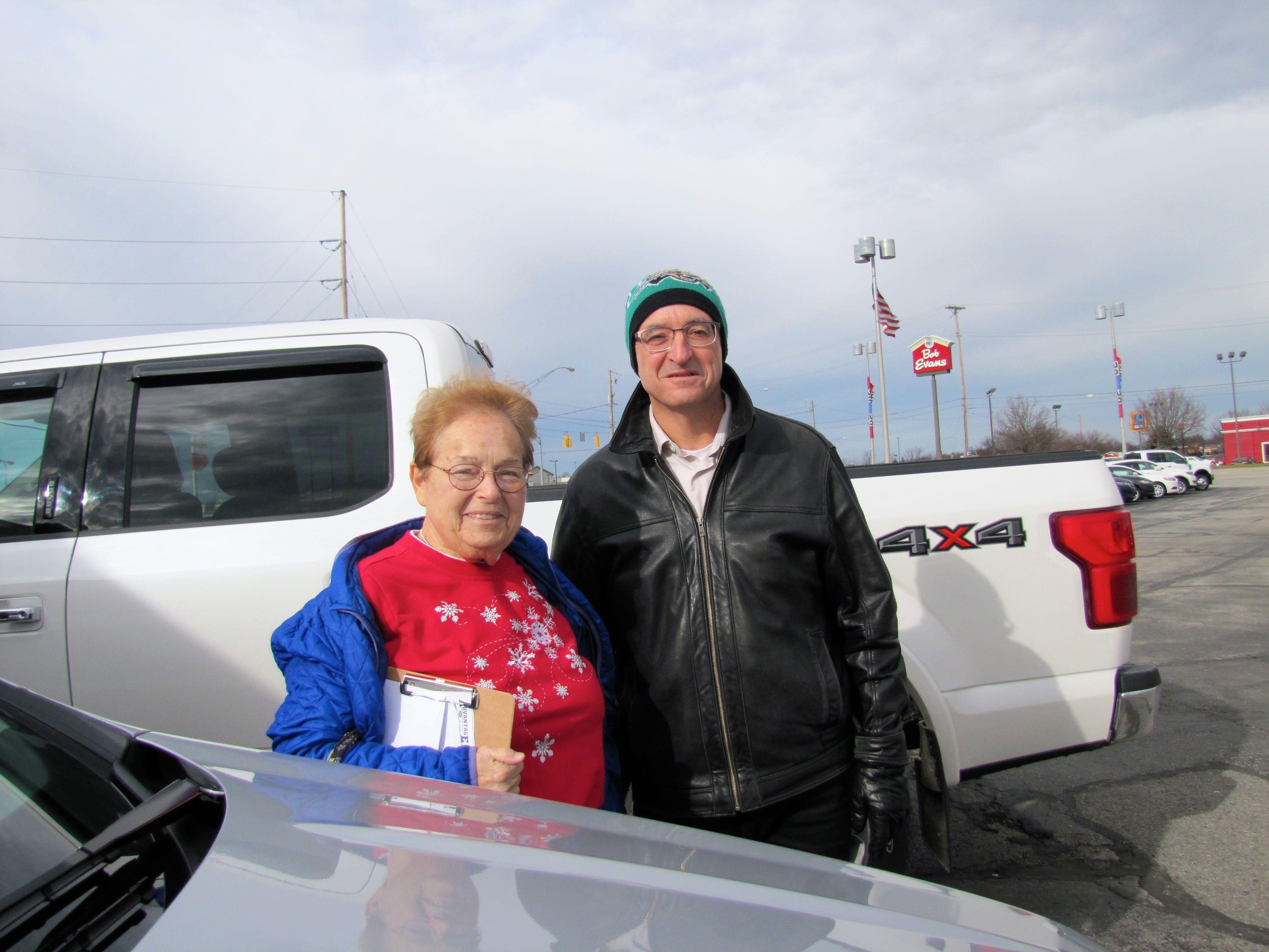 Picture Elizabeth Doust With Tim Harmon Congratulations Elizabeth