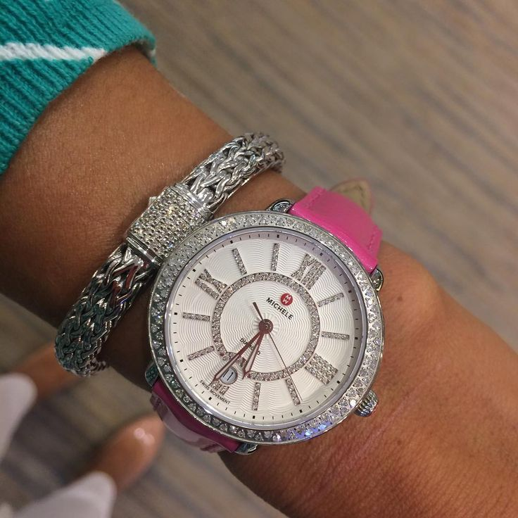 Michele watch and John Hardy bracelet..the perfect combination ...