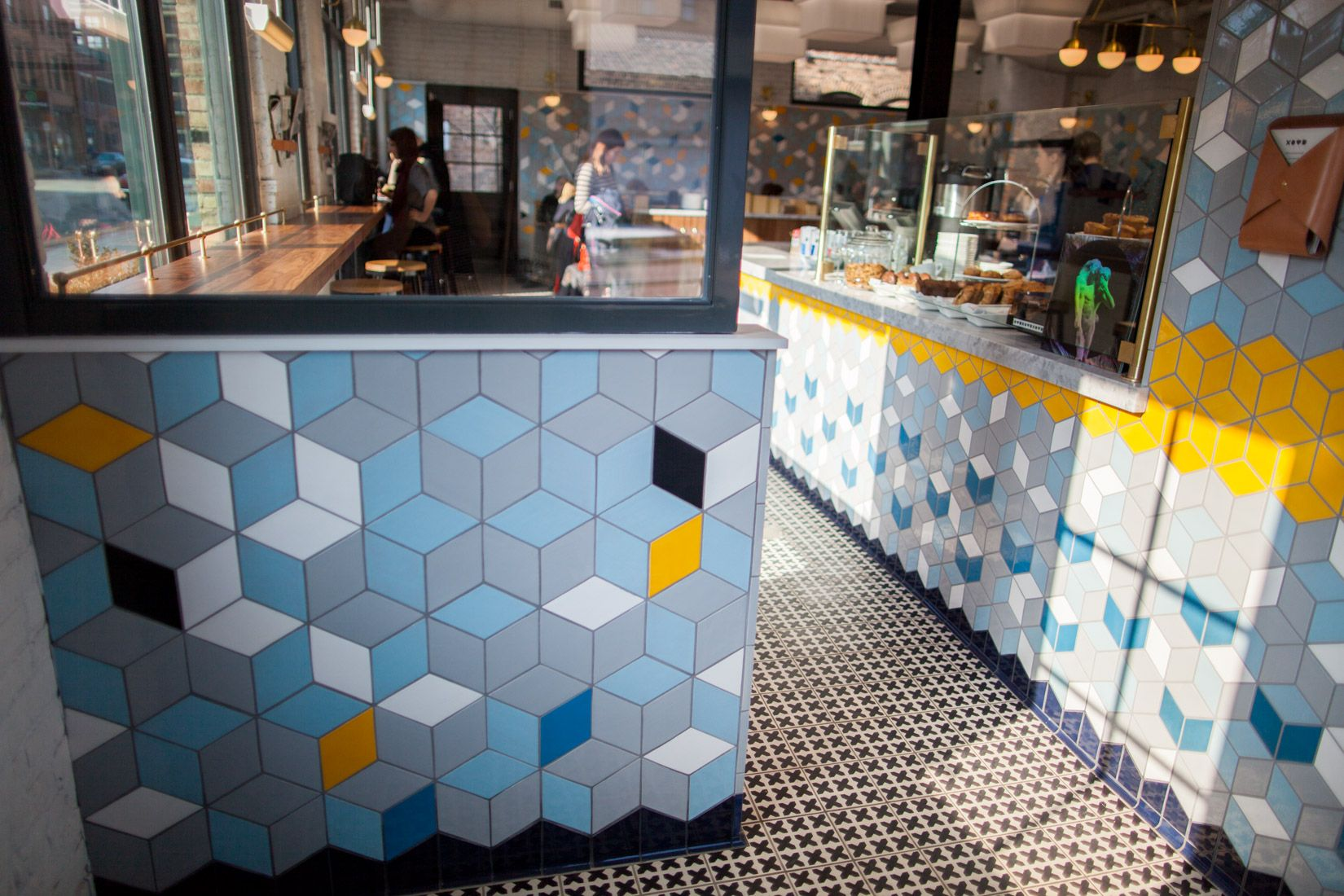 behind the bachelor farmer cafe tile | mercury mosaics | pinterest