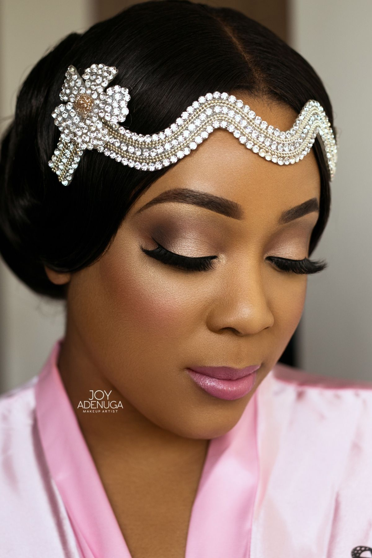 Maquiagem Pele Negra Maquiagem para noivas, Cabelo de