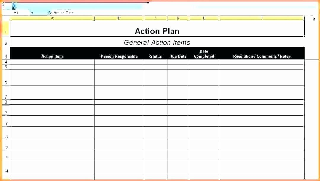 Action Item Template Word In 2020 Simple Business Plan Template