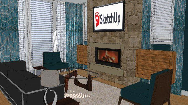 Download Sketchup Bootcamp Creating Interiors Sketchup