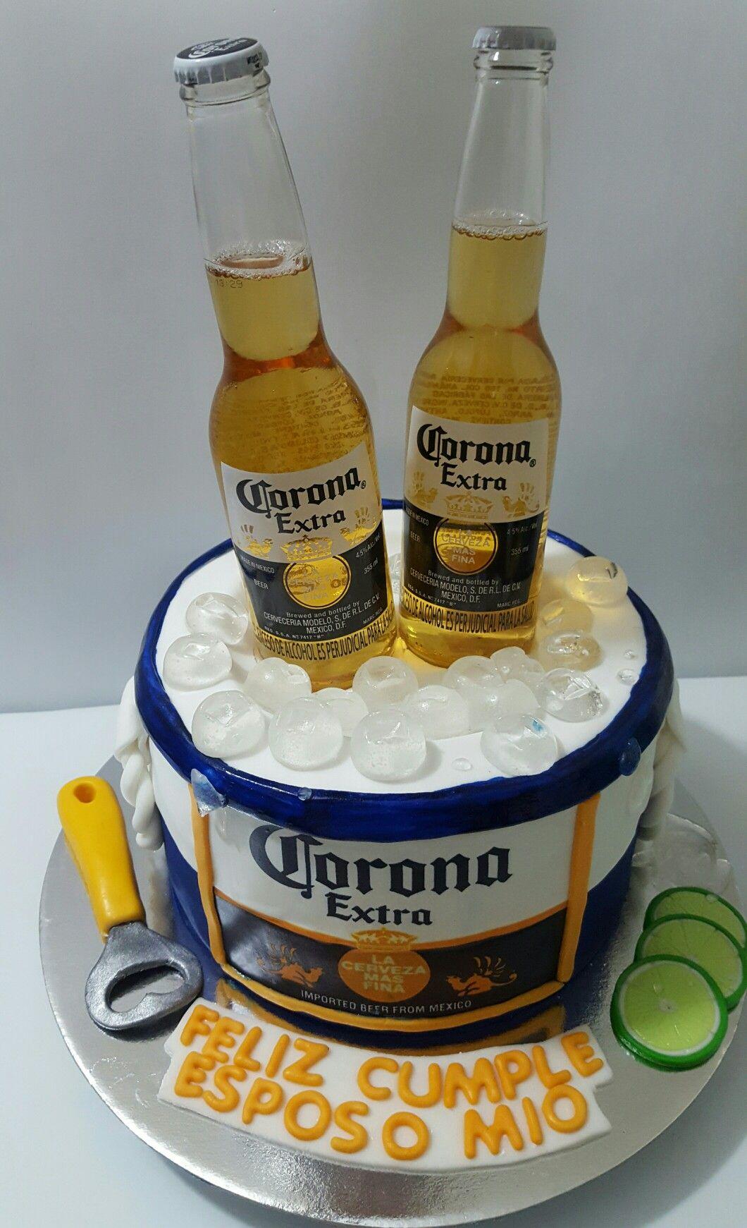 torta cerveza corona ideas