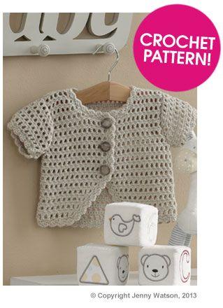 Jenny Watson Bolero Free Crochet Pattern Deramores Knit And