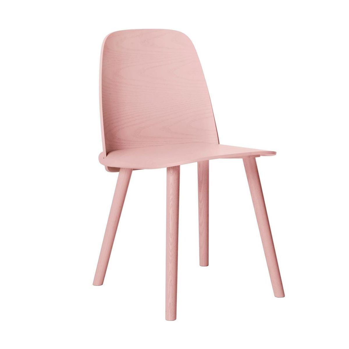 Muuto - Nerd Chair - ash rose/lacquered