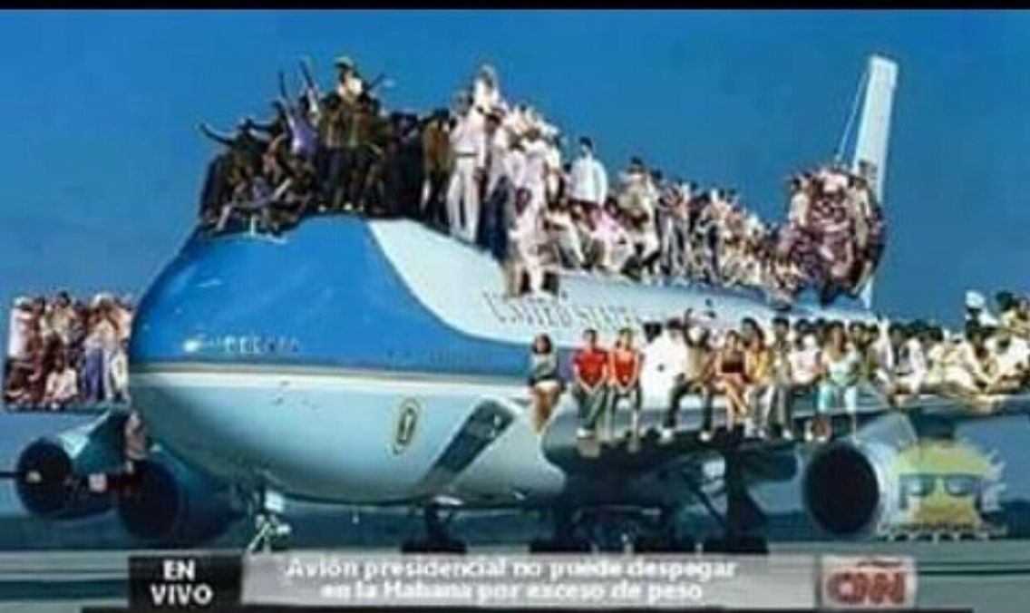 Meanwhile In Cuba Air Force Ones Cuba Air Force