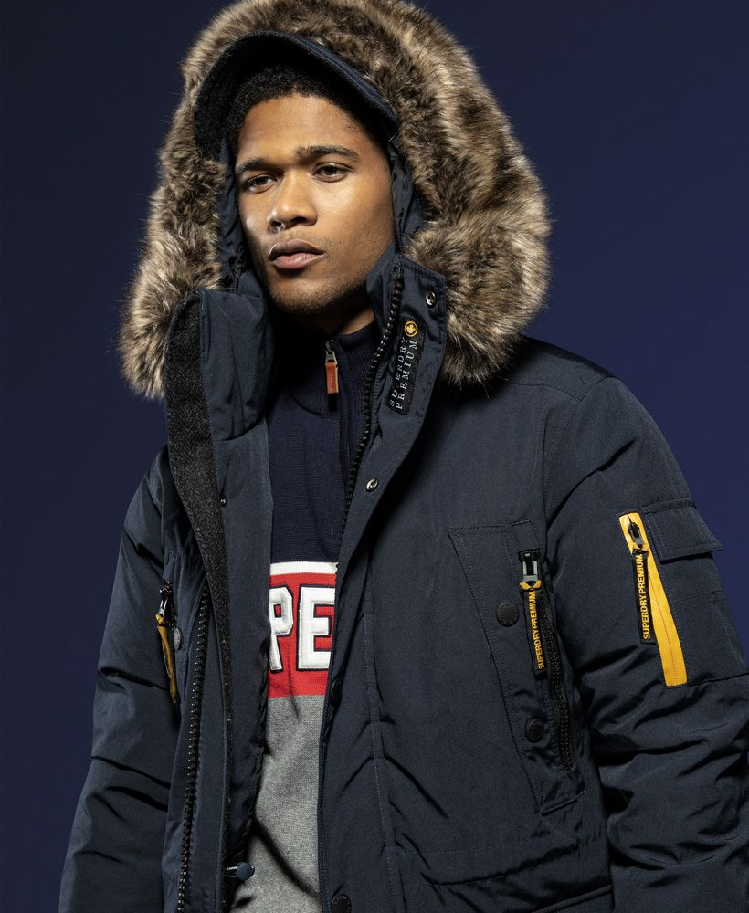 Superdry Premium Ultimate Down Parka Jacket Outstanding Coats In