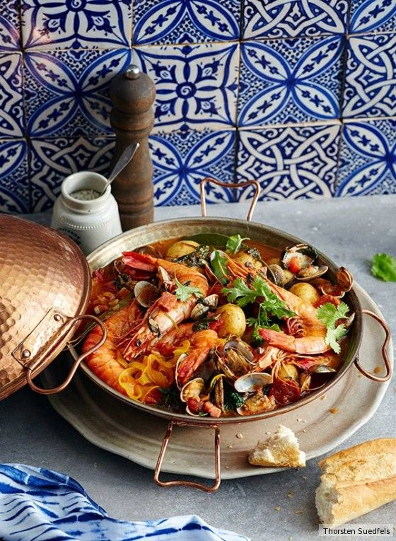 Cataplana Algarvia #seafooddishes